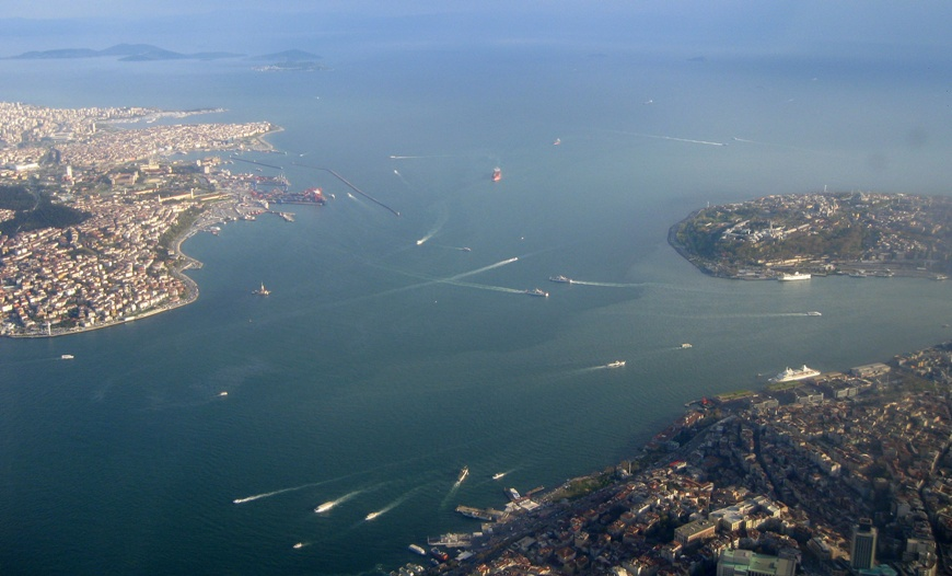 Стамбул. Вид из люмика