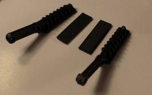 Клешни: левая и правая + резинки на скотче