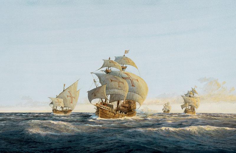 Васко де Гама на пути в Индию, 1499 год
