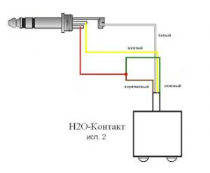Датчик протечки воды H2O Контакт