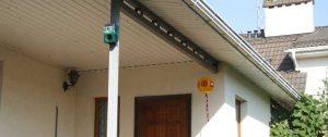 Биоакустический прибор Bird Gard Pro защищает дом от птиц