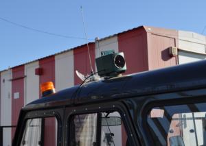 Bird Gard Super Pro установлен на автомобиль