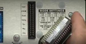 Звуковой модуль устанавливается в контрольную панель