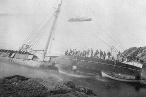 Гибель новозеландского парохода SS Wairarapa, 1896 год