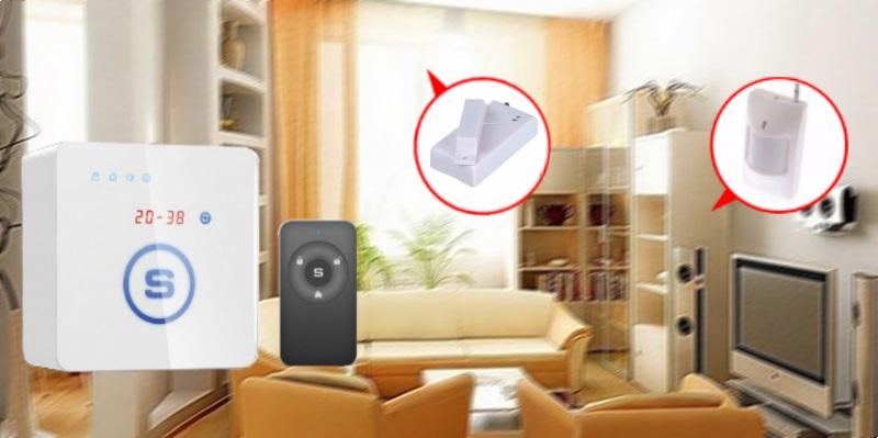 дом квартира комната сигнализация