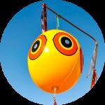 Визуальный отпугиватель птиц Шар Scare Eye