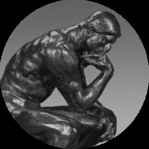 Вечные вопросы. Мыслитель Родена