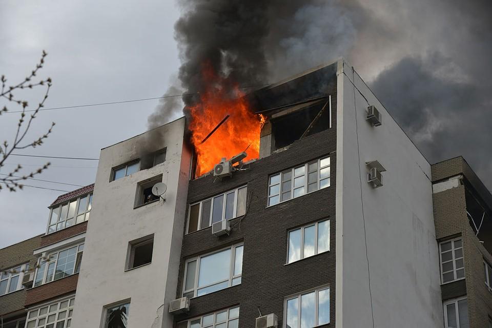 Взрыв бытового газа в многоквартирном доме