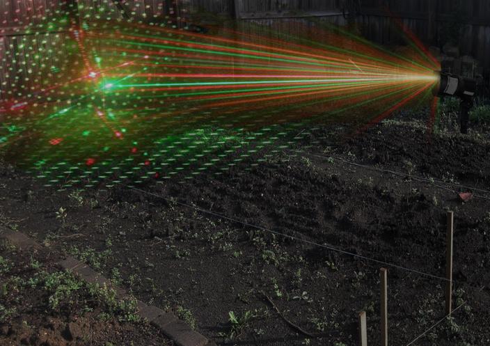лазер от птиц в поле