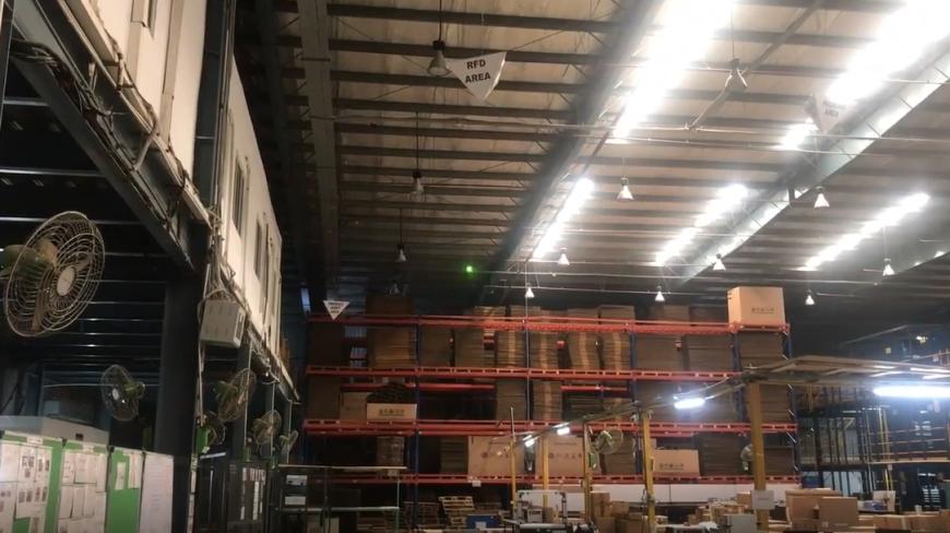 Indoor установка на склад