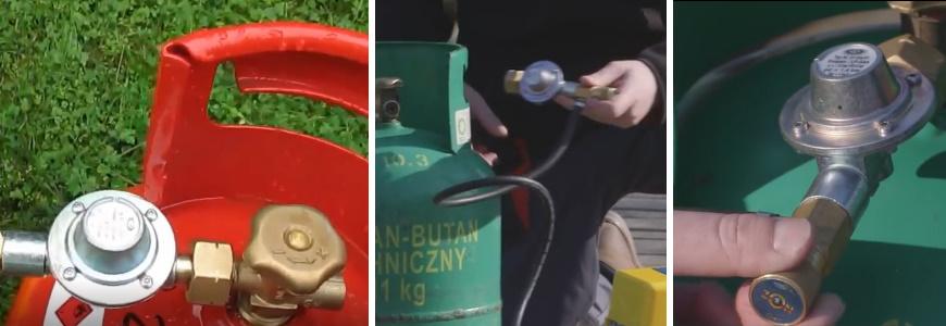 Подача газовой смеси настраивается регулятором подачи